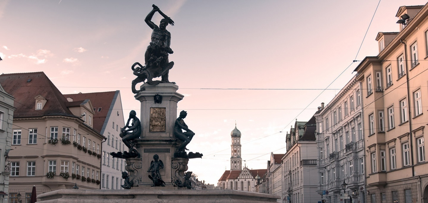 Hercules Fountain The Water Management System Of Augsburg