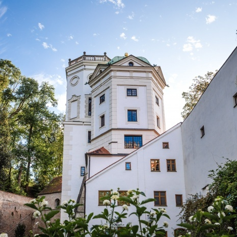 The Large and the Small water tower of the Waterworks at Rotes Tor ©Martin Augsburger/Stadt Augsburg