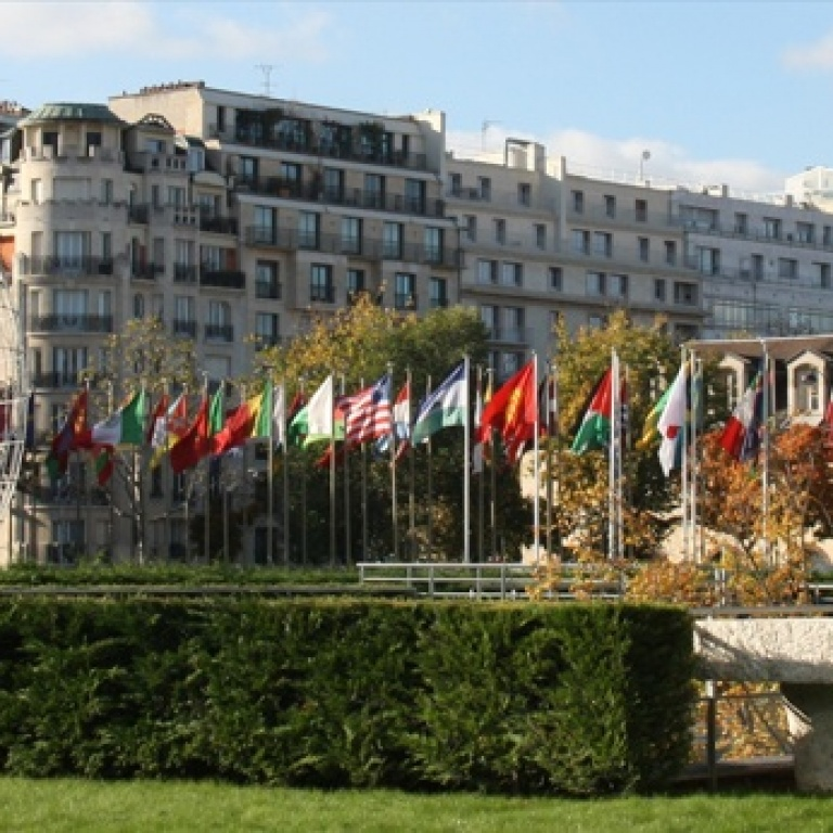 Hauptsitz der UNESCO in Paris